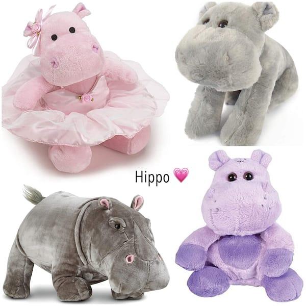 Hippo Stuffed Animals