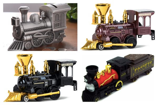 Model Metal Die Cast Trains