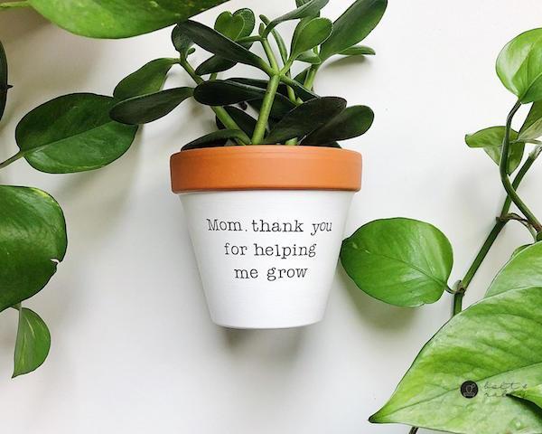 Mom Thank You Planter