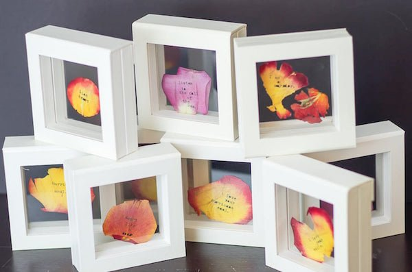 Mothers Day Personalized Rose Petals