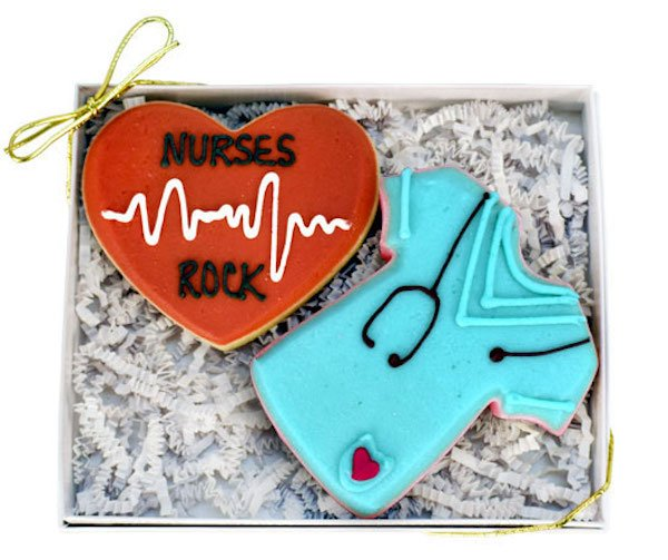 Nurses Rock Cookie Gift Box