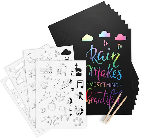 Ultimate Scratch Art Paper Kit