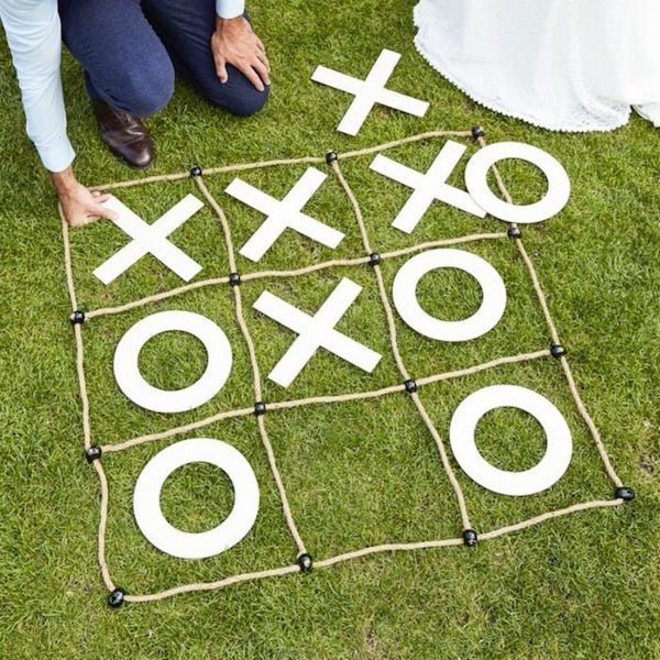 Wedding Tic Tac Toe Yard Game