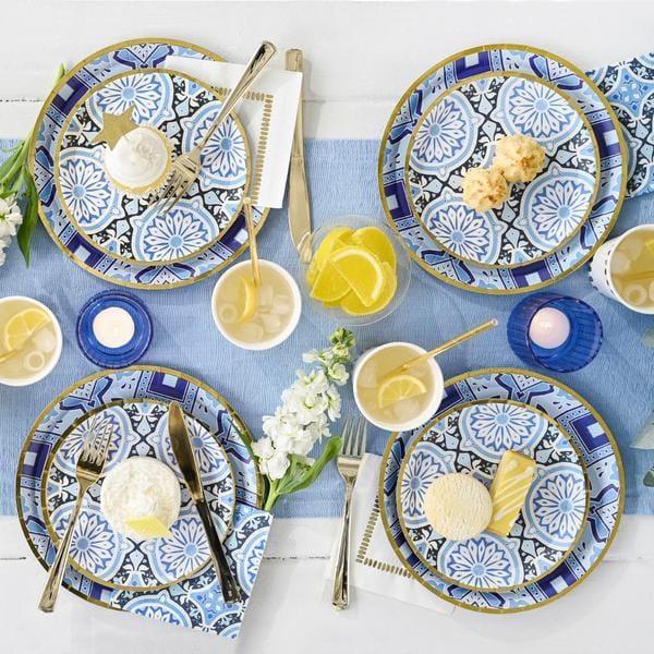 Amalfi Blues and White Tableware Set