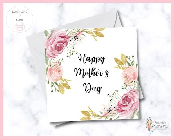 Download and Print Mothers Day Cards