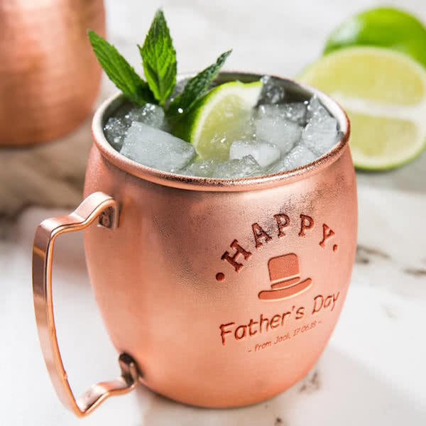 Father's Day Moscow Mule Mug