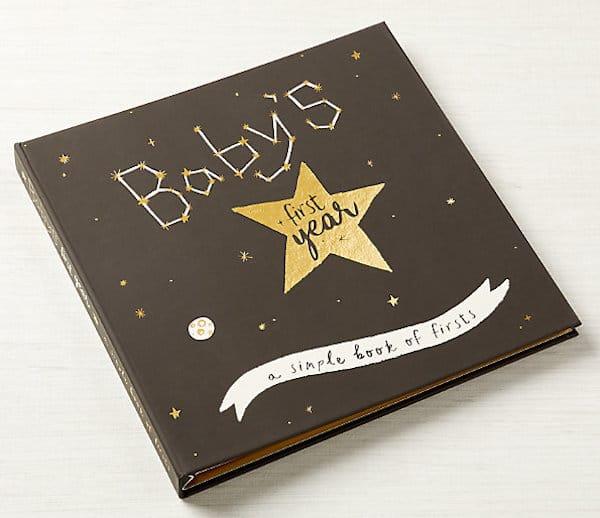 Golden Star Baby Memory Book