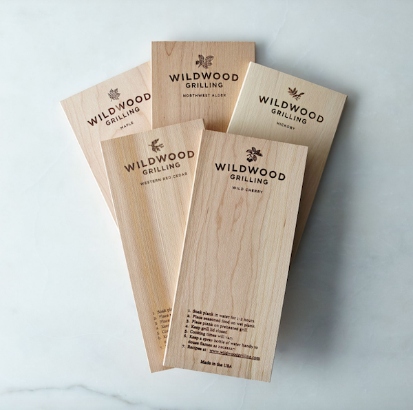Grill Planks Sampler Set Gift for Dad