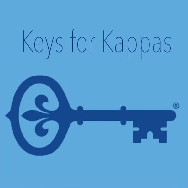 Keys for Kappas - Kappa Kappa Gamma Sorority Gifts