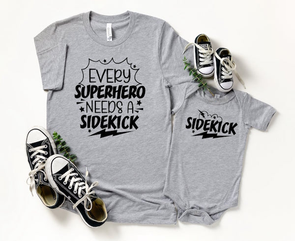 Matching Superhero Daddy and Me Fathers Day Gift Ideas