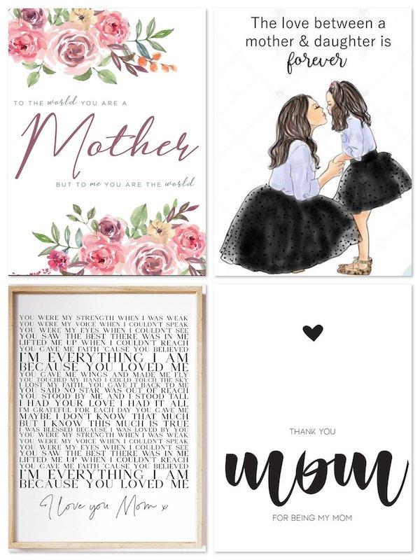 Mothers Day Printable Art Prints