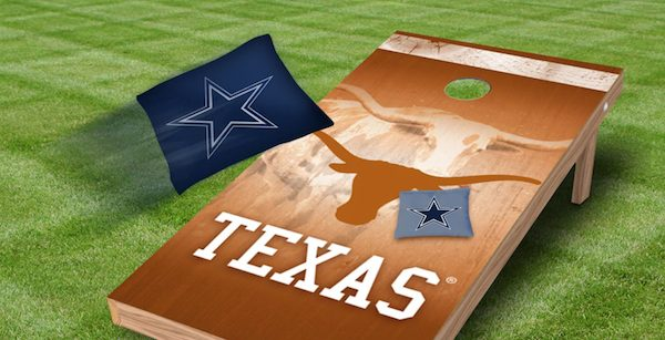 Sports Team Cornhole Summer Outdoor Game Gift for Dad