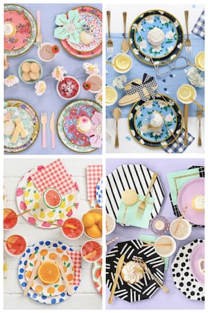 Take a Break from Washing Dishes - Party Pretty at Home
