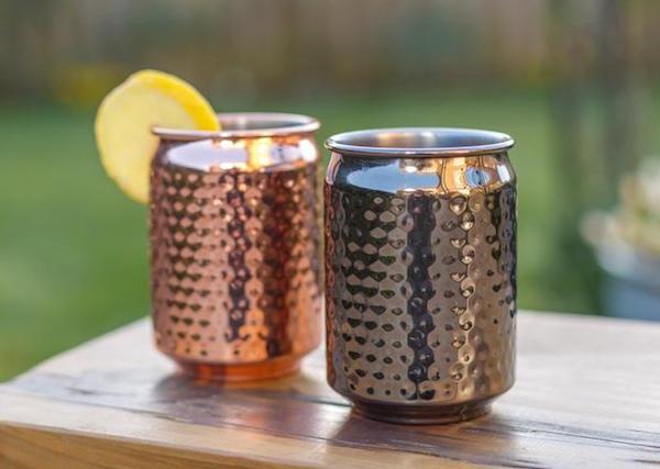 Metal Can Cups Picnic Barware
