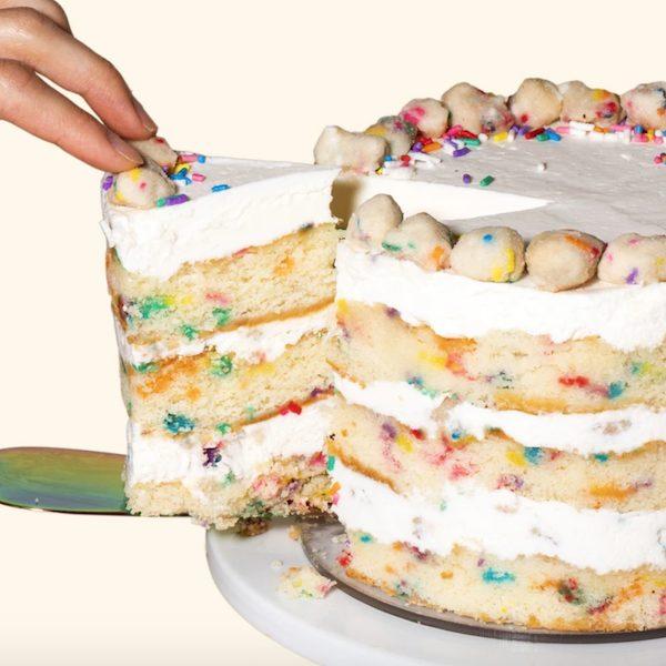 Milk Bar Sprinkles Cookie Dough Birthday Cake