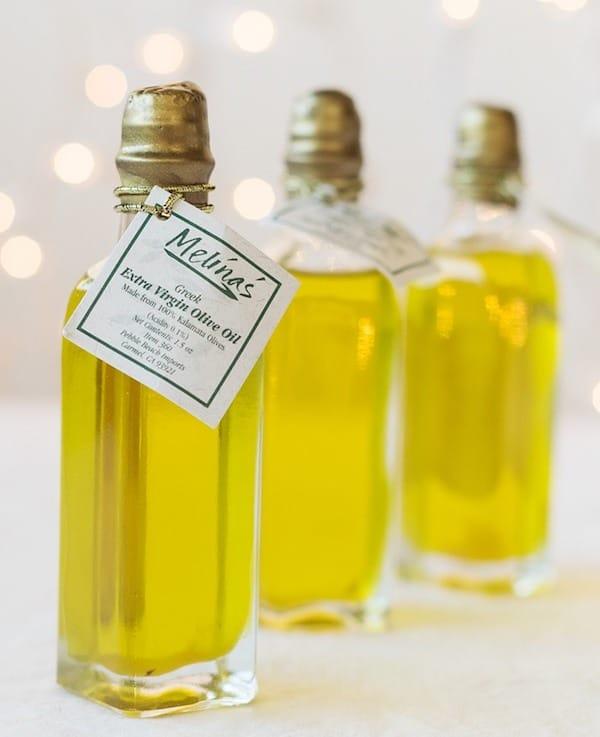 Mini Olive Oil Bottles
