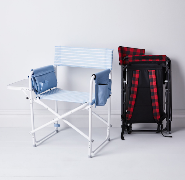 Outdoor Portable Backpack Chair Picnic Time