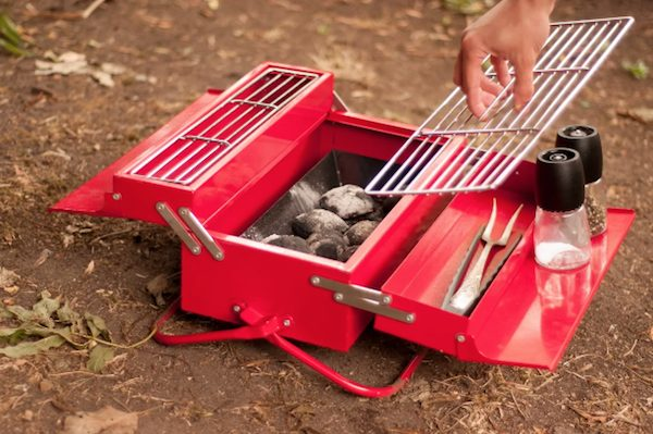 Portable Picnic Charcoal Grill