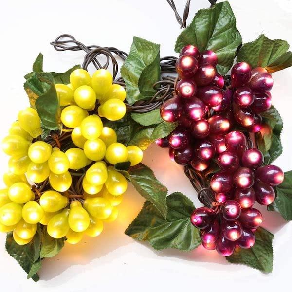 Purple & Green Grape String Lights