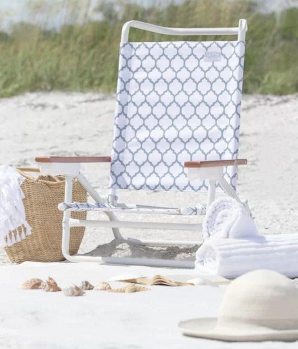 Reclining Backpack Beach Chair