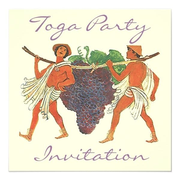 Toga Party Planning Ideas and Supplies