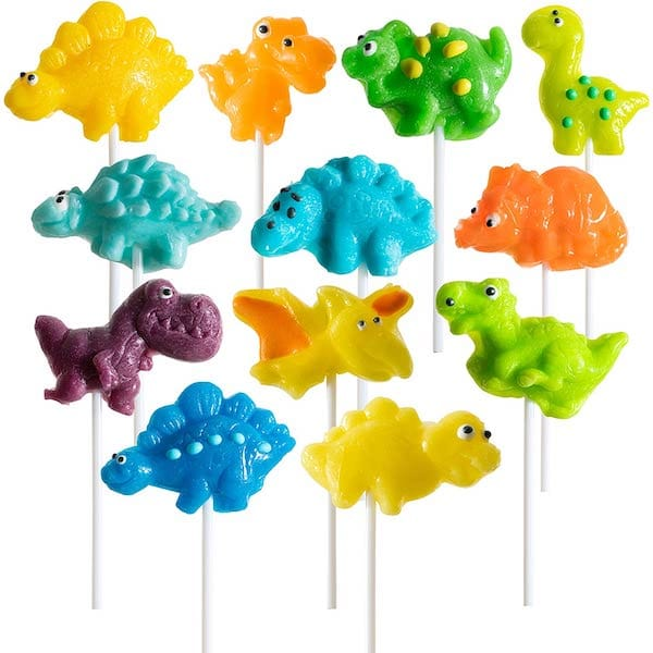 Candy Dinosaur Lollipos & Gummies