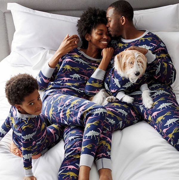 Matching Family Dinosaur Jammies