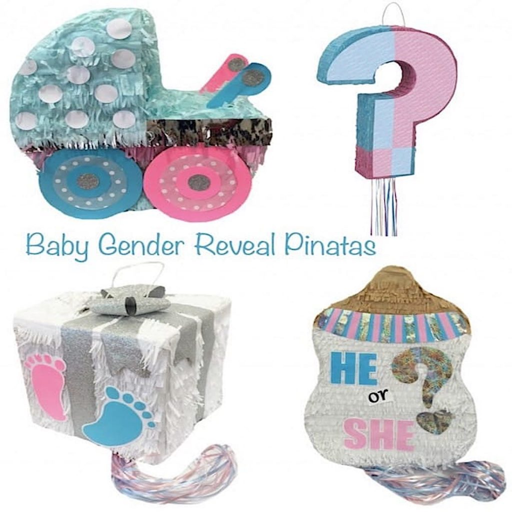 Baby Gender Reveal Pinatas
