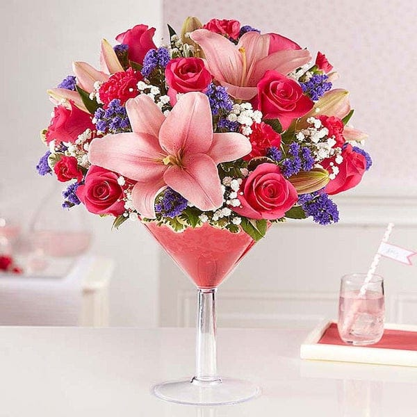 Girls Night Happy Hour Floral Bouquet