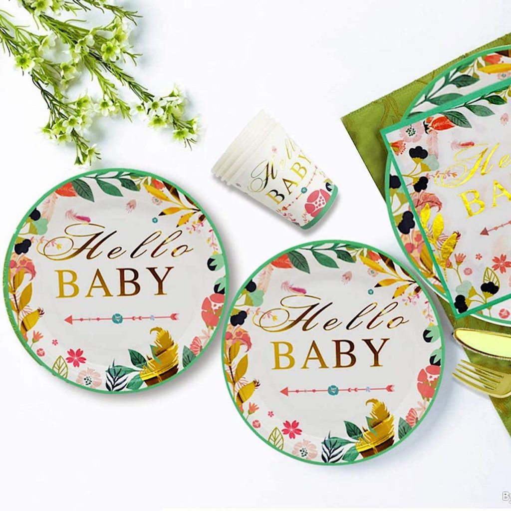 Hello Baby Party Supplies