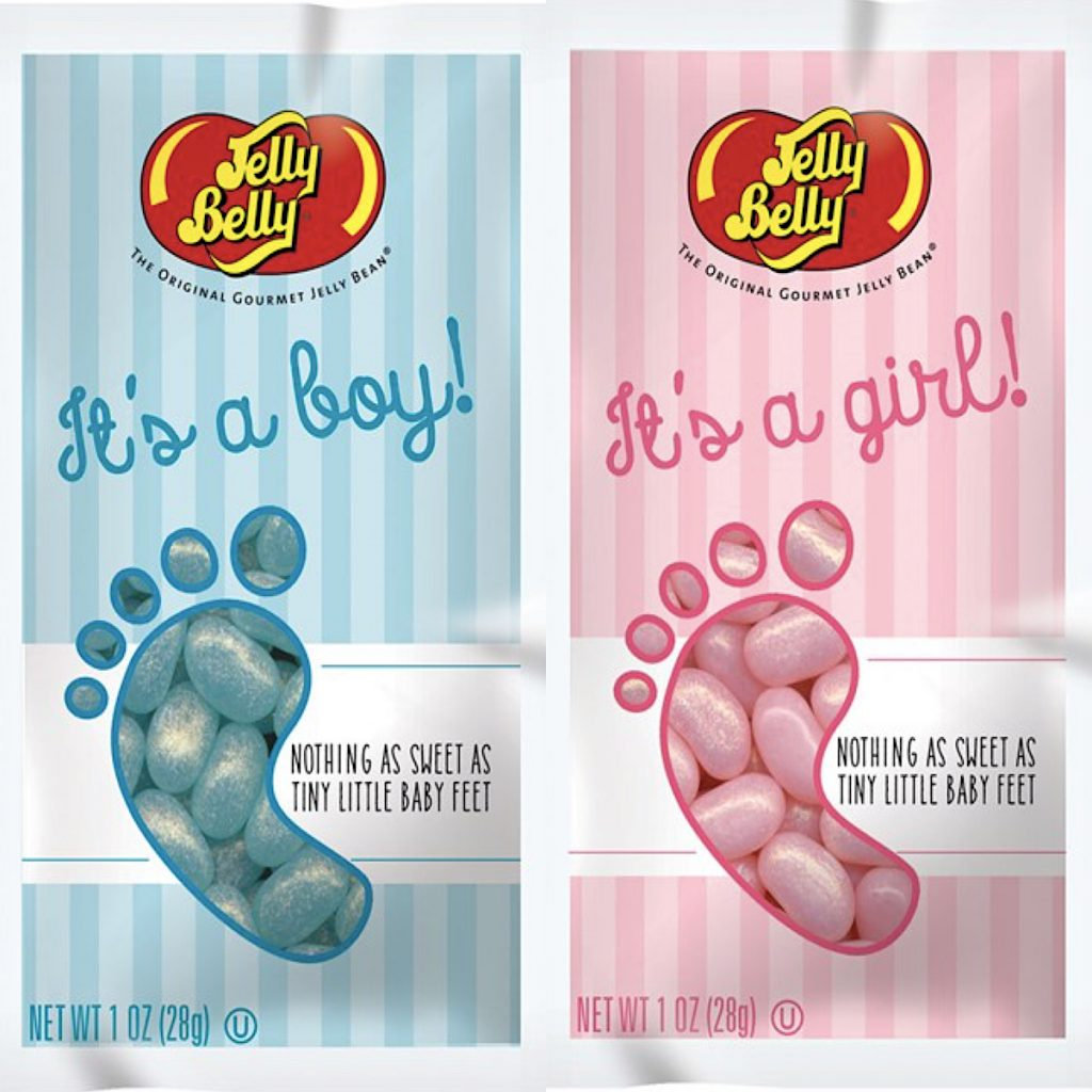 Baby Gender Reveal Jelly Belly