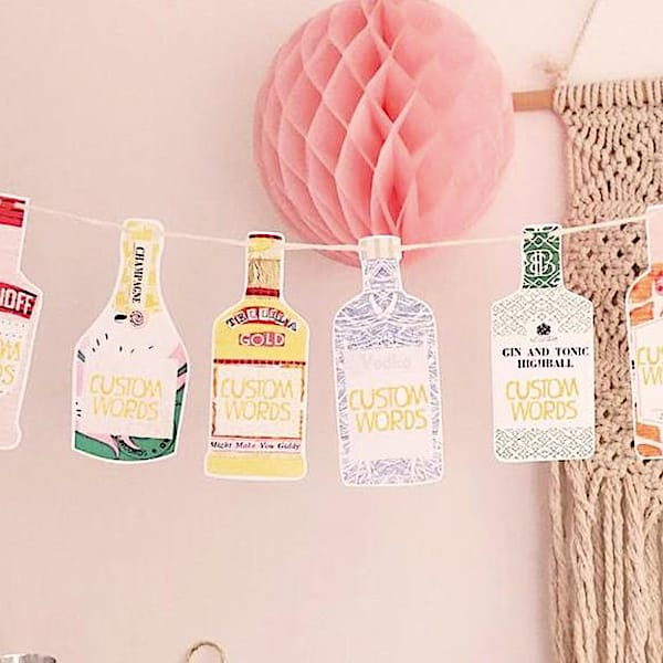 Let's Cocktail Bunting
