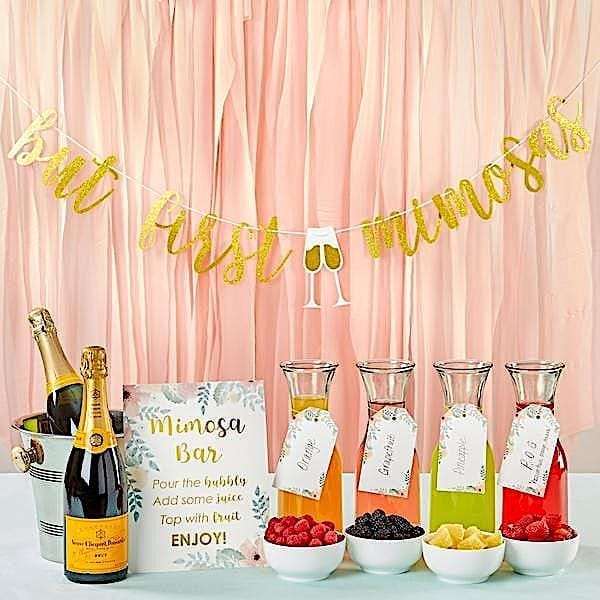 Mimosa Bar Decor Kit