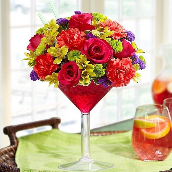 Sangria Happy Hour Floral Bouquet
