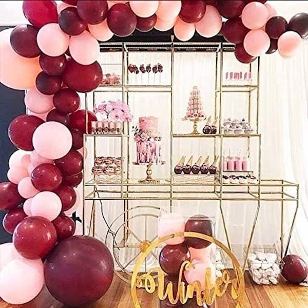 Wine Balloon Garland