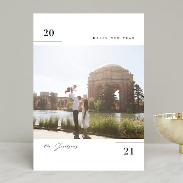 No Envelope Holiday Postcards