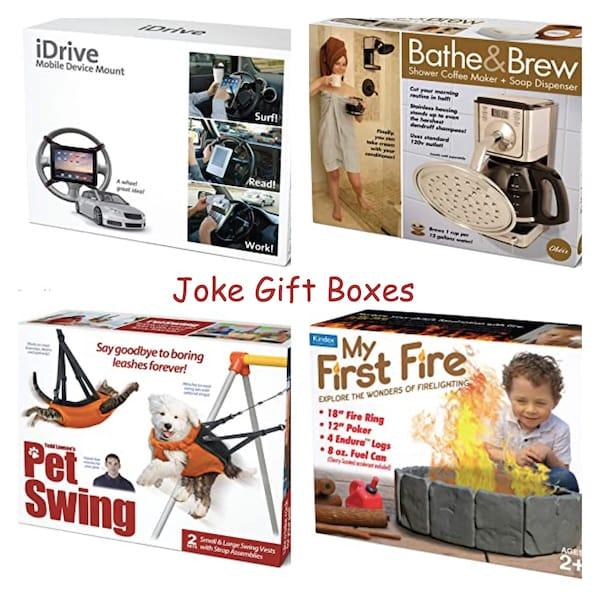 Joke Gift Boxes