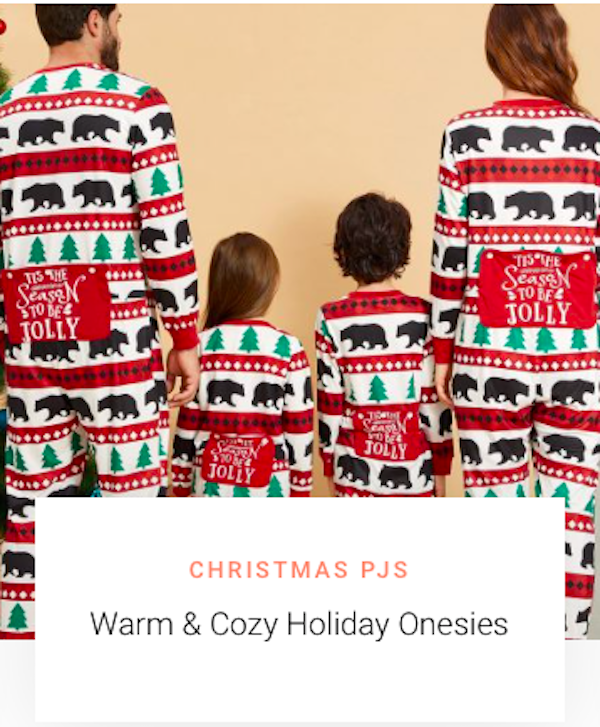 Mommy and Me Christmas Onesies