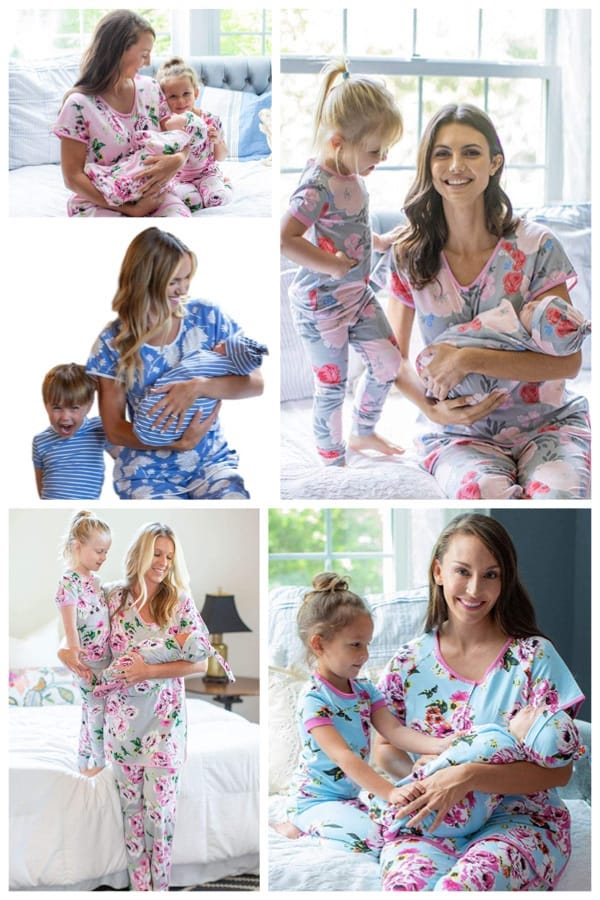 Mommy and Me and Baby Matching Sleepwear