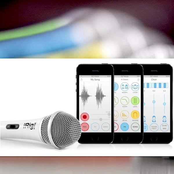 iRig Voice Karaoke Microphone for Smartphones and Tablets