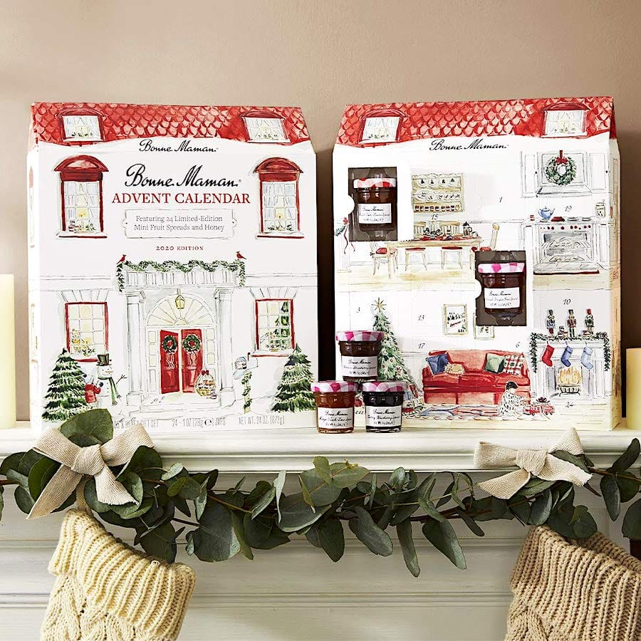 Bonne Maman 2020 LIMITED EDITION Mini Fruit Spreads & Honey Advent Calendar