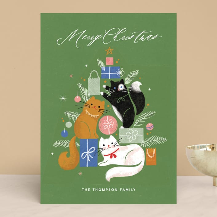 Christmas Kitties Pet Holiday Cards