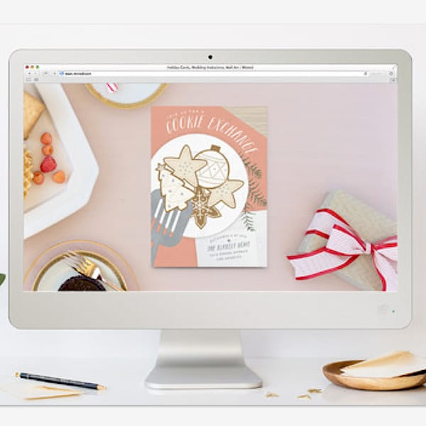 FREE Online Cookie Exchange Party Invitation