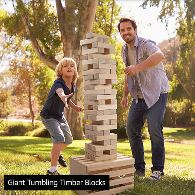 Giant Tumbling Timber Toy