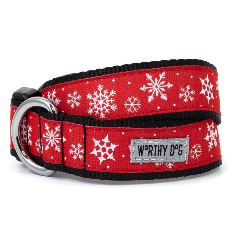 Let It Snow Dog Collar