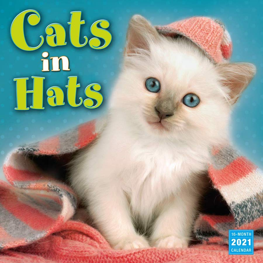 2021 Cats in Hats Calendars