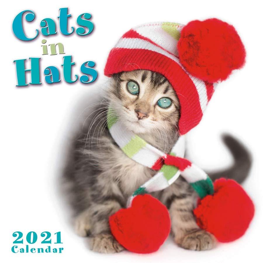 2021 Cats in Hats Mini Calendars