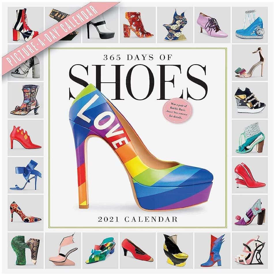 365 Days of Shoes Picture-A-Day Wall Calendars 2021
