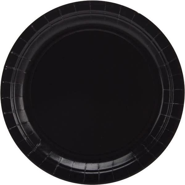 Black Party Plates