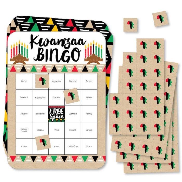 Kwanzaa Bingo